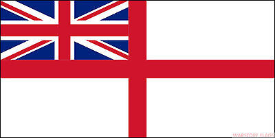Royal Navy White Ensign 5 X 3 Flag British Union Jack