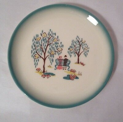 "Vintage Forever Yours By Brock Of California Victorian 6 3/4"" Dessert  Plate"