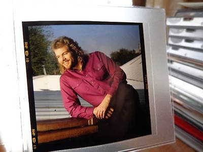 "Toby Keith *Vintage 2.5"" Outtake Transparancy Image+Shock 'N Y'all Media Package"