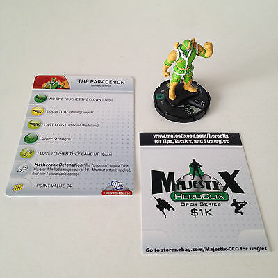 Heroclix Brave and the Bold set The Parademon #030 Uncommon figure w/card!