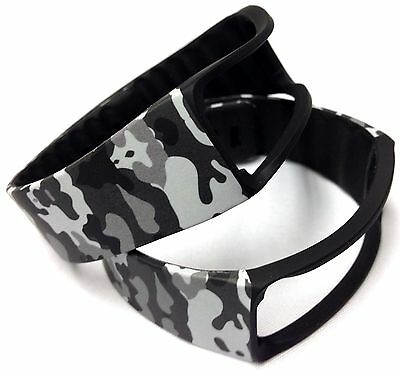 2pcs Camouflage Camo Army Military Bands For Samsung Galaxy Gear Fit Bracelet