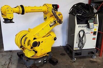 Fanuc - S-430 iw Robot - Complete Robotic System w/ R-J3 Controller