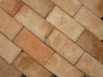 "ANTIQUE CLAY BRICKS VENEER WALLS FLOORS 8""x4""x1"" SUSTAINABLE PRODUCT"