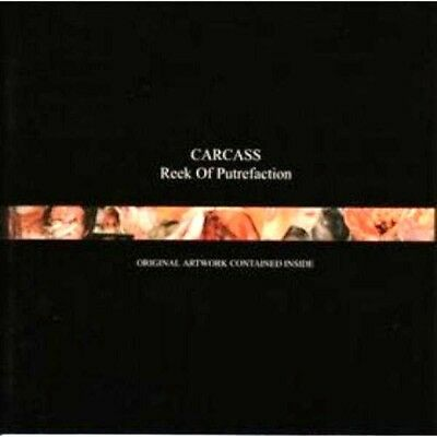 Carcass Reek Of Putrefaction Sealed Cd New