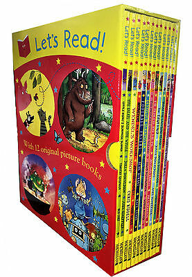 Lets Read Collection 12 Picture Books Set by Julia Donaldson The Gruffalo, Mouse