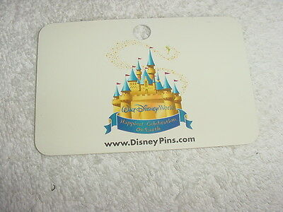 Walt Disney World Castle * Pin Trading Lanyard Card with Pin Trading Rules