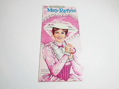 VINTAGE 1973 WHITMAN WALT DISNEY'S MARY POPPINS  PAPER DOLL BOOK / NEW UNCUT