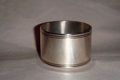 """Christofle """"Cluny"""" Napkin Rings - Silver Plated"""