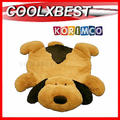 Free Delivery - New Korimco Puppy Dog Design Soft Nusery Playmat Floor Rug