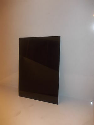 A5-3 mm Black (solid colour) cast Perspex Acrylic sheet 210 mm x 148 mm