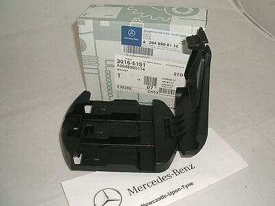 Genuine Mercedes-Benz Warning Triangle Plastic Bracket Holder A2048900114 NEW