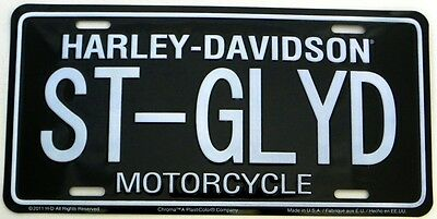 Harley Davidson Street Glide ST-GLYD Embossed Car License Plate Auto Tag