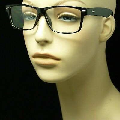 Clear lens glasses nerd geek fake eye wear men women  hipster frame new