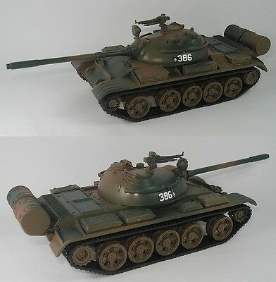 1:43 Russian T-55 Tank Military Diecast T55 - 18CM(7 INCH)