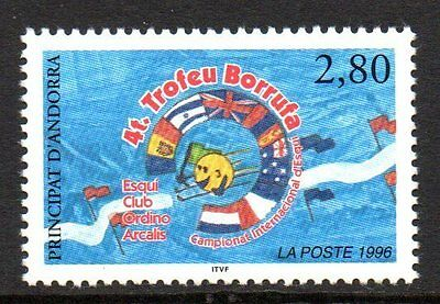 Andorre, French - 1996 Skiing championship Mi. 488 MNH