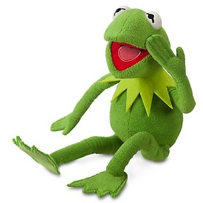 """Disney Kermit The Frog Stuffed Plush Muppets Most Wanted Muppet Doll NWT 16"""""""