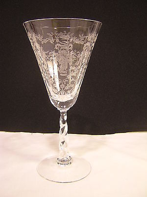 "Fostoria MAYFLOWER 7 3/8"" Water Goblet"