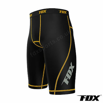 FDX Mens Compression Shorts Sports Briefs skin tight fit gym Runing Base layers