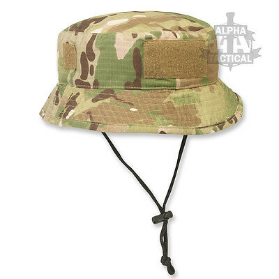 Special Forces Short Brimmed Multicam Mtp Bush Hat With Velcro Patch Tropical Sf