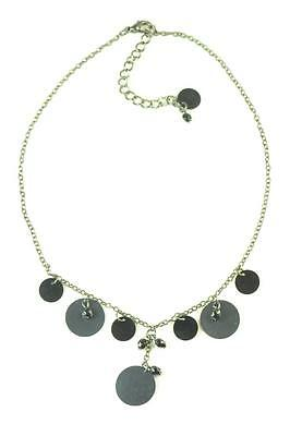 FUNKY FEATHER ZX3 GOTHIC GLAM LADIES ADJUSTABLE BLACK CRISS-CROSS CHOKER