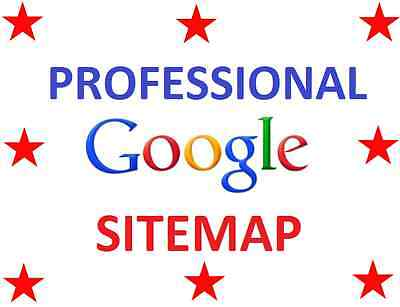 *** Professional Sitemap For Your Website - Google Webmasters SEO Indexing ***