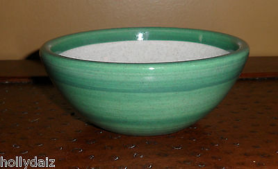 Gail Pittman Duets Sage Green Small Cereal / Soup / Chili Bowl Authentic Signed