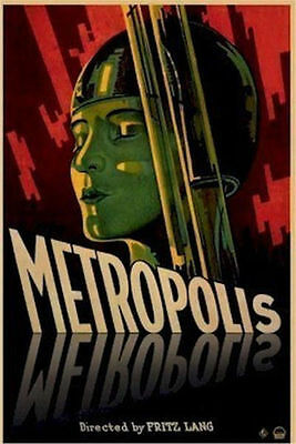 METROPOLIS MOVIE POSTER - 24x36 SHRINK WRAPPED - LANG 15555