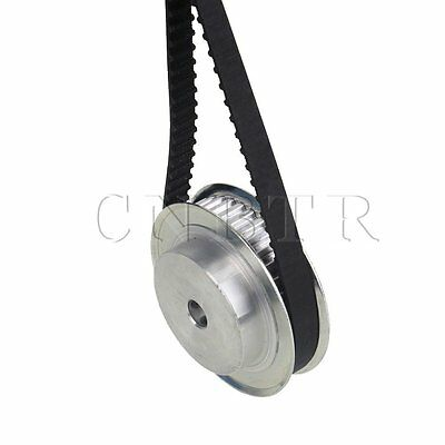 """180XL Rubber Imperial Timing Geared Belt 0.2"""" Pitch Positive Drive"""