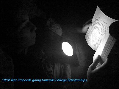 Book Light : 100% Net Proceeds Donated Towards College Scholarships