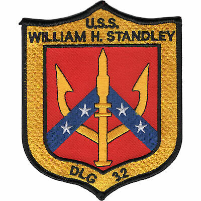 DLG-32 USS William H Standley Patch