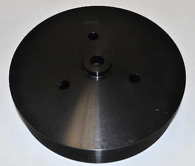 "Weiand 174 Powercharger Crank Pulley - 10-Rib 7"" Diameter"