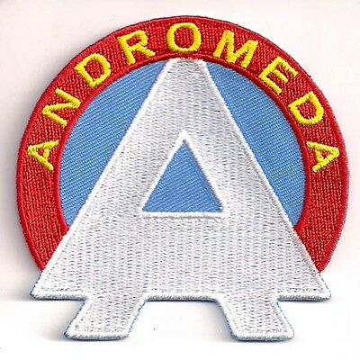 "Space:1999 Andromeda ""A"" Logo  3"" Wide Uniform Patch- FREE S&H  (SPPA-1912)"