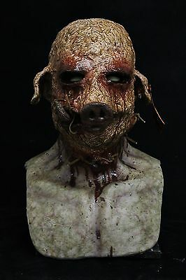 The Swine (Pig, Boar) Silicone Mask by Shattered FX