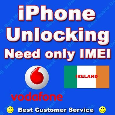 Factory Unlock Service Vodafone Ireland iPhone 7/ 7 Plus Clean IMEI Only