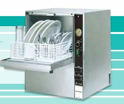Jet Tech F-14 Compact HIGH-temp Countertop Commercial Dishwasher #1 RATED UNIT!!