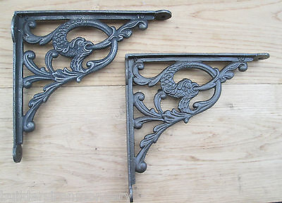 Cast iron Old english Shelf Support Wall Book Sink Toilet Cistern Bracket