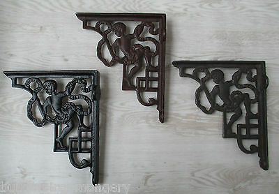 Cast iron Old Edwardian Shelf Support Wall Book Sink Toilet Cistern Bracket