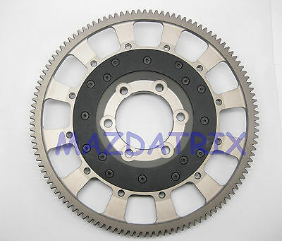 "Mazda Rotary Aluminum Flywheel for 7.25"" Clutch (11 3/4"" Diameter, FC3S,FB,RX7)"