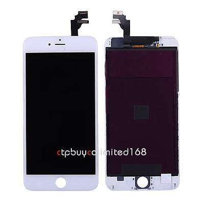 White LCD Screen + Touch Digitizer + Frame Assembly For iPhone 6 Plus 5.5'' USA