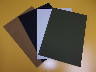 2 mm KYDEX T Sheet A4,A3,A2 SIZE Sheath Holster Olive-Green  Black Brown White
