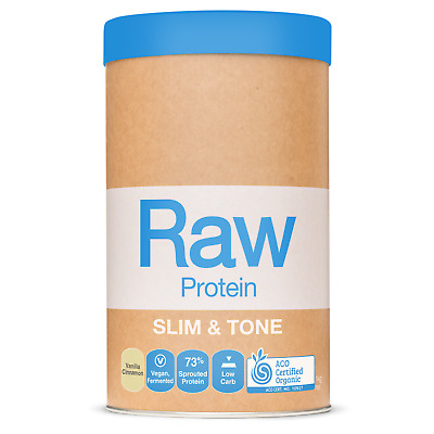 Amazonia Raw - Slim And Tone Vanilla Protein Isolate - Raw  Protein Vegan