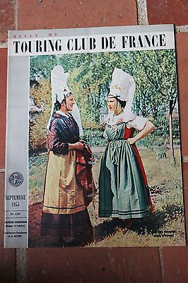 Revue du TOURING CLUB DE FRANCE - 1955 N°654 COSTUMES NORMANDS ISIGNY & FALAISE