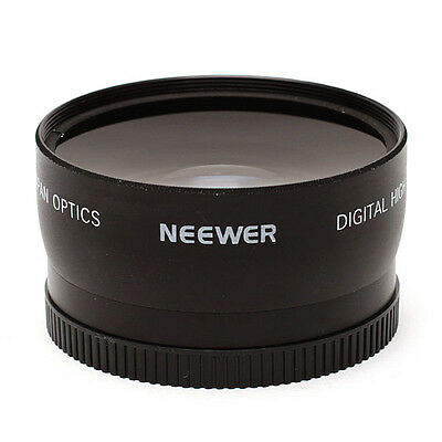 ~Neewer 0.45X 58mm Wide Angle + Macro Conversion Lens Brand NEW!8