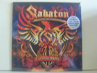 "Lp Picture +7"" -Coloured Orange-Sabaton ""coat Of Arms""-Sealed"