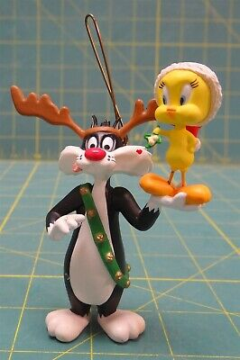 Sylvester & Tweety Hallmark Keepsake Ornament 1993