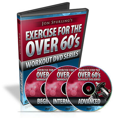 DVD Business for Sale, Resell Rights for J. Spurling's EXERCISE FOR THE OVER 60s
