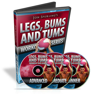 DVD Business for Sale, Resell Rights for J. Spurling's LEGS, BUMS & TUMS SERIES