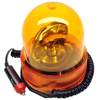 Revolving Recovery Beacon / Warning Flashing Light / Lamp Amber Orange TE350