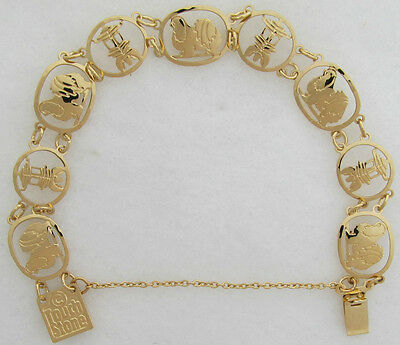 Japanese Chin Jewelry Gold Bracelet by Touchstone