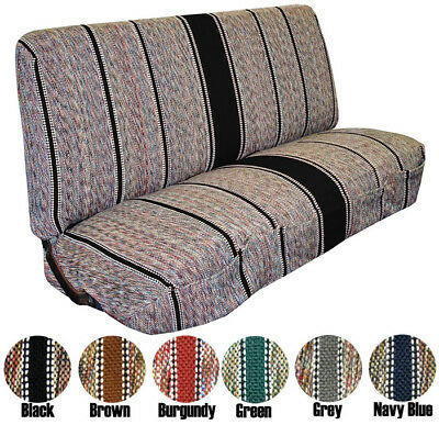 1940 - 1991 Ford Full Size Truck Bench Saddleblanket Universal Seat Covers
